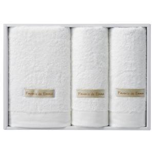 ギフト ハーフバスタオル&フェイスタオル2P ホワイト ホワイト 日本製)結婚内祝い 出産内祝い 贈答品 贈り物 お返し|nacole