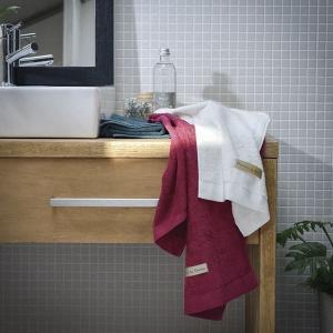 ギフト ハーフバスタオル&フェイスタオル2P ラズベリーピンク フォレストグリーン 日本製)結婚内祝い 出産内祝い 贈答品 贈り物 お返し|nacole