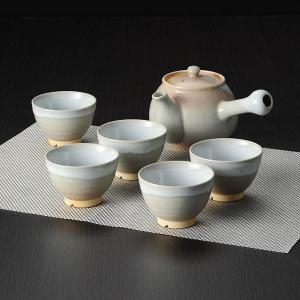 萩焼 茶器揃(茶こし付)(日本製 和食器)(内祝い おしゃれ ギフト 贈答品) nacole