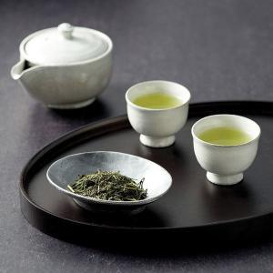 ギフト 清水焼茶器と宇治茶セット 白 日本製 日本茶 結婚内祝い 出産内祝い 贈答品 贈り物 お返し|nacole