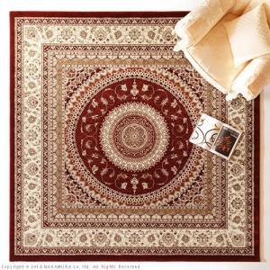 トルコ製 ウィルトン織りラグ マルディン 240x240cm|nacole|02