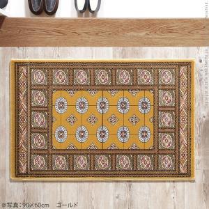 玄関マット 室内 ベルギー製ウィルトン織玄関マット 90x60cm エントランスマット|nacole|02