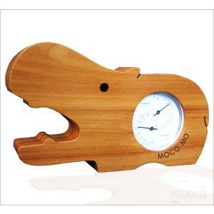 モコモ 温湿度計 カバ ナチュラル|nacole