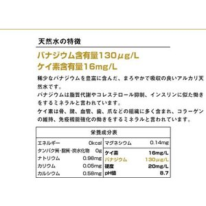 プレミアム天然水 富士山のバナジウム水130 2L ペットボトル ミネラルウォーター|nacole|02