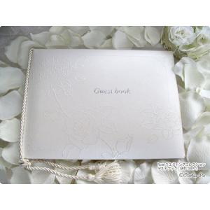 結婚式用 ゲストブック 芳名帳 ローズウェディングコレクション(結婚内祝い 出産内祝い おしゃれ ギフト お返し)|nacole
