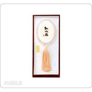 数珠・念珠 女性用 紅水晶 片手|nacole