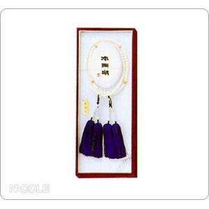数珠・念珠 女性用 白サンゴ 4天ピンクサンゴ振分(結婚内祝い 出産内祝い おしゃれ 寒中見舞いギフト お返し)|nacole