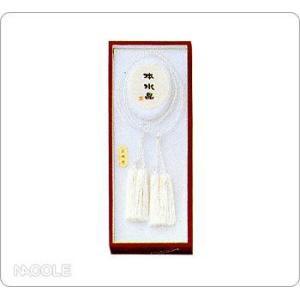 数珠・念珠 女性用 天然水晶 振分(結婚内祝い 出産内祝い おしゃれ 寒中見舞いギフト お返し)|nacole
