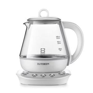 【ティーポット】マルチポット 1.0L | ガラスケトル お茶 おしゃれ 簡単 ほったらかし 美味しい 健康 紅茶 薬膳ティー 薬膳茶 BUYDEEM バイディーム|nadeshico