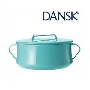 ■送料無料■ DANSK  ダンスク  コベンスタイル 両手鍋 18cm ティール 833297 ホーロー ウェア デンマーク|nadeshico