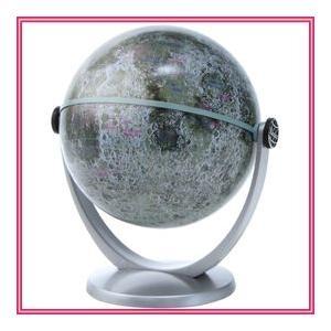 月球儀 KG-100M クレーターや海など月の様々な地形を表記した学習用月球儀。|nadeshico