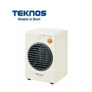 TEKNOS モバイルセラミックファンヒーター TS-300  300W テクノス 暖房器具 国内最...