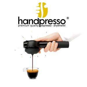 小型エスプレッソマシン Handpresso(ハンドプレッソ)ハイブリッド - カフェポッド・コーヒー粉抽出可能 電気不要|nadeshico
