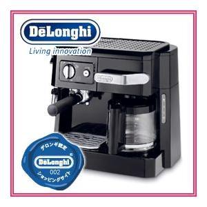 デロンギ正規販売代理店 コンビコーヒーメーカー BCO410J-B ブラック|nadeshico