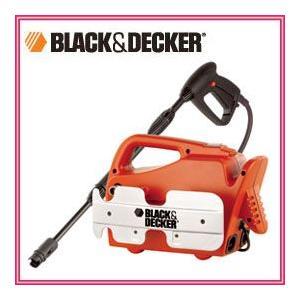 ブラック&デッカー コンパクトフィット 高圧洗浄機 PW1300C 女性にも使いやすい軽量・コンパクトモデル nadeshico