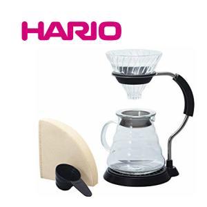 ■送料無料■ HARIO ハリオ V60 アームスタンド ガラスドリッパーセット VAS-8006-G VAS8006Gドリップスタンド |nadeshico