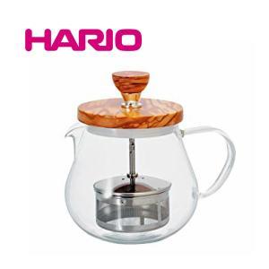 HARIO ハリオ ティオール・ウッド TEO-45-OV 容量450mlオリーブウッド 紅茶 お茶 ポット 急須 ギフト お歳暮 プレゼント TEO45OV |nadeshico