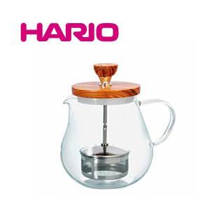 HARIO ハリオ ティオール・ウッド TEO-70-OV 容量700mlオリーブウッド 紅茶 お茶 ポット 急須 ギフト お歳暮 プレゼント TEO70OV |nadeshico