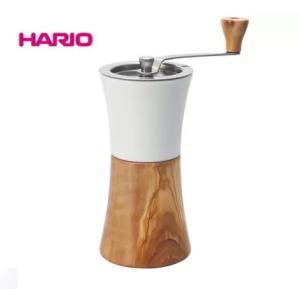 ハリオ HARIO コーヒーミル・ウッド MCWN-2-OV 日本製 容量:コーヒー粉 約30g オリーブウッド|nadeshico
