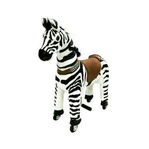 ■送料無料■ラングス エコポニー しまうま今年もウマくいきます 乗馬気分が味わえる馬のおもちゃ ぬいぐるみ 特大クリスマスプレゼント nadeshico