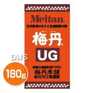 梅丹UG 180g (めいたん 粒)【梅丹本舗】-000008|nadeshikonomori