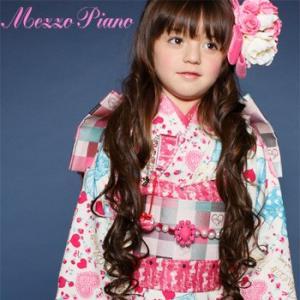 七五三 着物 7歳 フルセット レンタル 女の子 mezzo piano(メゾピアノ)  ひな祭り着物