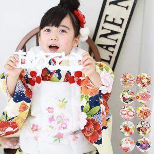 七五三 被布 着物 3歳 女の子 フルコーディネートセット 選べる8柄 レンタルよりお得...
