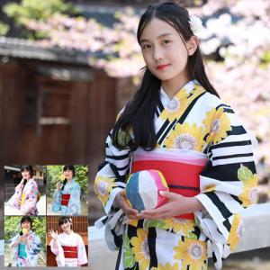 ときめきジュニア恋浴衣作り帯3点セット 浴衣 レディース s...