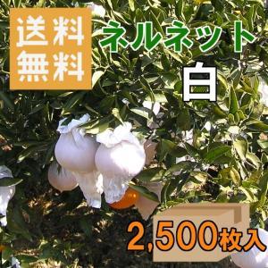 ネルネット白 K-21 みかん越冬育成用 ストッキングタイプ果実袋 2,500枚入 nadja