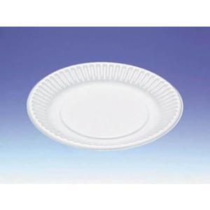 使い捨て食器 B-2 丸皿中 (184φ×17mm) 3,000枚 − デンカポリマー|nadja
