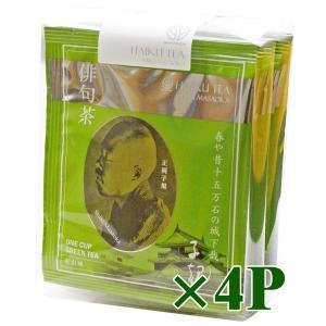 抹茶入煎茶ティーバッグ 俳句茶 6バッグ入×4 − 松南園|nadja