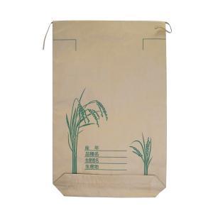 クラフト紙製 米袋 30kg用 100枚 − 一色本店|nadja