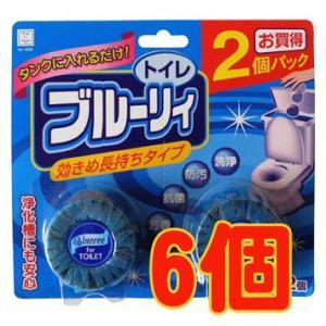 トイレ洗浄剤 ブルーリィ 50g(インタンクタイプ)2個入×6 − 小久保工業所|nadja