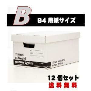 ミヌンボックス(MINUN BOX)B-Type (W29.5×D42.7×H22cm) 12個 − バンドー nadja