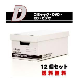 ミヌンボックス(MINUN BOX)D-Type (W21.8×D34.5×H15.5cm) 12個 − バンドー nadja