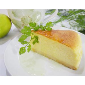 瀬戸内レモン風味のチーズケーキ スフレタイプ (レモンソース付) − お菓子工房おち|nadja