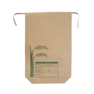 クラフト用紙 米袋 5kg バンド付A 100枚 − 王子製袋|nadja