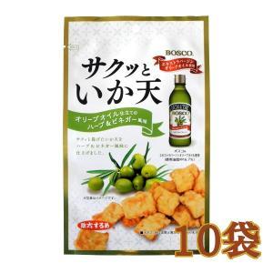 サクッといか天 オリーブオイル仕立てのハーブ&ビネガー風味 38g×10袋 −助六食品|nadja