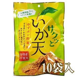 サクッといか天 ゆずポン酢風味 65g入×10 −助六食品|nadja