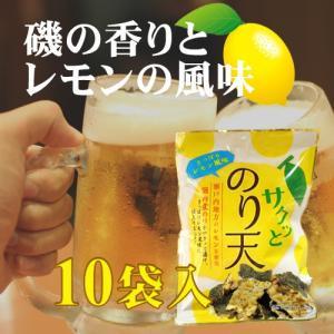 サクッとのり天 レモン風味 65g入×10 −助六食品|nadja