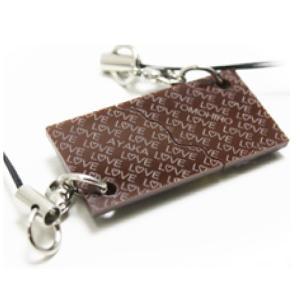 ペア カップル 名入れ プレゼント ストラップ チョコレート 名前入り バレンタイン おもしろ チョコ アクリル   敬老の日 /翌々営業日出荷|nafudaya