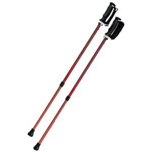 SINANO シナノ ウォーキングポール もっと安心2本杖 パンサーl 同梱不可 l 散歩 つえ サポート|nagaikiya-honpo