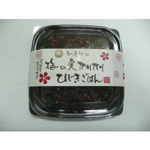 梅の実カリカリ ひじきごはん170g