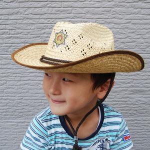 子供用 麦わら帽子 カウボーイ (北海道、東北¥1000・沖縄、離島¥2000別途送料)|nagamineshouten2