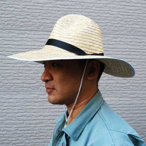 金竜 帽子 男 大 (麦わら帽子) 農作業 (北海道、東北¥1000・沖縄、離島¥2000別途送料)|nagamineshouten2