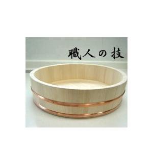 日本製 木製 寿司桶(12号 5合) (北海道、東北¥1000・沖縄、離島¥2000別途送料)|nagamineshouten2