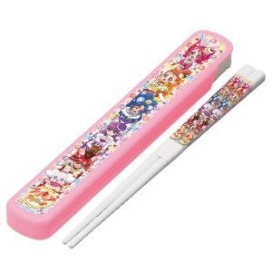 15%off キラキラ プリキュアアラモード スライド式 箸&箸箱セット メール便可|nagamineshouten