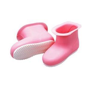 洗濯・浴室用ブーツ カレンナブーツ セミロング (ピンク)(hu-kutu-2)|nagamineshouten