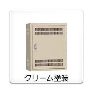 B12-105-2LC 日東工業 熱機器収納キャビネット[木製基板付]・クリーム色(1000×500×120、両扉)|nagamono-taroto