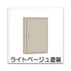 B12-413 日東工業 盤用キャビネット(露出形)[木製基板付]・ライトベージュ色(400×1300×120、片扉)|nagamono-taroto